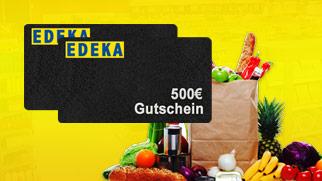 500 € Edeka Gutschein