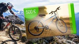 Fahrrad-Gewinnspiel